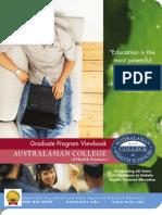 ACHS Graduate Viewbook