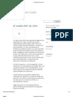El Modelo MVC de JAVA