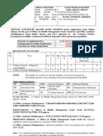 Mewar Aanchalik Gramin Bank Recruiting Officers and Office Assts 2013