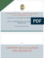 Gestion de La Calidad Del Proyecto 1218238729509839 9