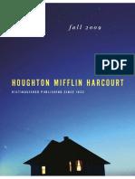 Houghton Mifflin Harcourt Adult Catalog Fall 09