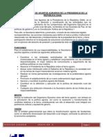 Derecho Agrario LA SECRETARÍA DE ASUNTOS AGRARIOS DE LA PRESIDENCIA DE LA REPÚBLICA (SAA)