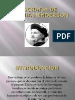 Biografia de Virginia Henderson