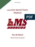 46 Nickel Special Teams