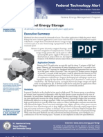 DOE/EE-0286 Flywheel Energy Storage An alternative to batteries for uninterruptible power supply systems