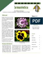 Boletin Botánica Farmacéutica Vol 1 N 1