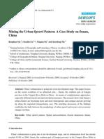 Mining the Urban Sprawl Pattern a Case Study on Sunan