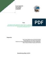 Gestión Ambiental Chek List
