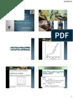 Anestesia inhalatoria y técnicas anestésicas - 2012