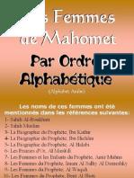 Les Femmes de Mahomet (liste)