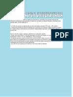 La Educacion Universitaria