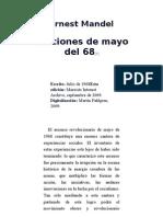 Ernest Mandel Lecciones de Mayo Del 68