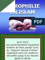 La Nécrophilie en Islam
