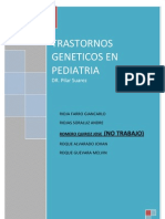 Seminario de Trastorns Geneticos FINAL