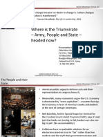 The Army's Strategic Mission