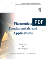Plasmonics Chapter 1