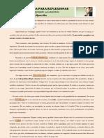 Una Historia Para Reflexionar, Del Diario de Un Egresado Universitario