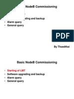 Basic NodeB Commissioning