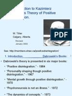 Dabrowski's Positive Disintegration