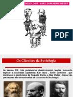 teoria classica sociologia