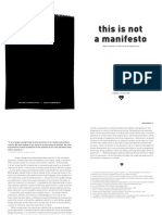 This is Not a Manifesto - Alternative Design Perspectives