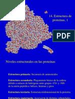 14 Estruc de proteínas, parte 1