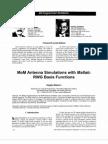 MoM antenna simulations, with Matlab RWG basis functions.pdf