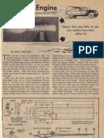 Jet Model Engine