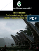 Buku Seri Etnografi Kesehatan Ibu dan Anak 2012; Etnik Toraja Sa'dan, Desa Sa'dan Malimbong, Kecamatan Sa'dan, Kabupaten Toraja Utara, Provinsi Sulawesi Selatan