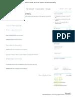 Infraestrutura de Redes _respostas Incorretas
