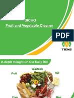 Fruit Cleaner Presentation