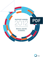 INFPC - Rapport annuel 2012