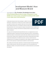 A Brand Development Model