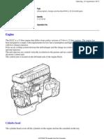 Volvo FM12, D12C 420 Engine