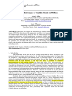 Volatility Comparitive Study