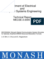 Matlab Simulation in Optical Communication