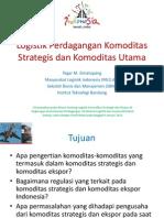 Pengantar Komoditas Strategis