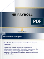 HR Payroll ppt