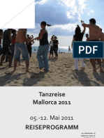 Reiseprogramm Mai 2011