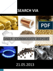 Commodity_report_daily 21 May 2013