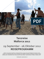 Reiseprogramm September 2012