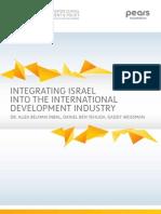 Integrating Israel Into the International Development Industry
