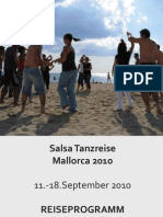Reiseprogramm September 2010