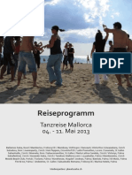 Reiseprogramm Mai 2013