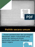PENGARUH POLITIK
