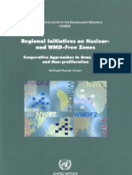 Regional Initiatives on Nuclear- And WMD-Free Zones