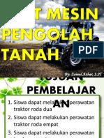 5. Merawat Alat Mesin Pengolah Tanah