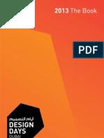 The Book - Design Days Dubai 2013
