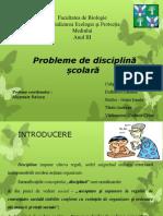 Probleme de disciplină școlară(1)