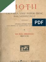 Ion Rusu Abrudeanu - Moţii, calvarul unui popor eroic, dar nedreptăţit (1928)